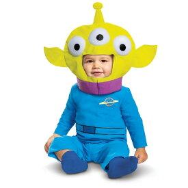 【あす楽】 ディズニー Disney トイストーリー エイリアン コスチューム 衣装 コスプレ ハロウィーン ハロウィン 幼児 ベビー用 [並行輸入品] Toy Story Alien Classic Infant グッズ ストア プレゼント ギフト クリスマス 誕生日 人気
