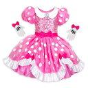 【1-2日以内に発送】ディズニー Disney US公式商品 ミニーマウス コスチューム 衣装 ドレス 服 コスプレ ハロウィン …