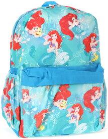 【あす楽】【L】 ディズニー Disney アリエル リトルマーメイド フランダー プリンセス リュックサック リュック 旅行 バッグ バックパック 鞄 かばん 女の子 女子 女児 子供 子供用 ガールズ キッズ [並行輸入品] Backpack Ariel 16'' クリスマス 誕生日 プレ