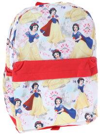 【あす楽】【L】 ディズニー Disney 白雪姫 プリンセス リュックサック リュック 旅行 バッグ バックパック 鞄 かばん 女の子 女子 女児 子供 子供用 ガールズ キッズ [並行輸入品] Backpack Snow white 16''' all print クリスマス 誕生日 プレゼント ギフト