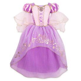 【1-2日以内に発送】 ディズニー Disney US公式商品 塔の上 ラプンツェル プリンセス コスチューム 衣装 ドレス 服 コスプレ ハロウィン ハロウィーン 子供 キッズ 女の子 男の子 [並行輸入品] Rapunzel Costume for Kids - Tangled グッズ ストア プレゼント ギフト ク