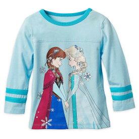 【あす楽】 ディズニー Disney US公式商品 アナと雪の女王 アナ雪 アナ プリンセス Tシャツ トップス 服 長袖 長そで シャツ 女の子用 子供用 女の子 ガールズ 子供 [並行輸入品] Frozen Long Sleeve T-Shirt for Girls グッズ ストア プレゼント ギフト クリ