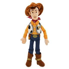 【あす楽】 ディズニー Disney US公式商品 トイストーリー ウッディ カウボーイ 中サイズ ぬいぐるみ 人形 おもちゃ 45cm [並行輸入品] Woody Plush Toy Story 4 Medium 18'' グッズ ストア プレゼント ギフト クリスマス 誕生日 人気