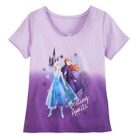 【あす楽】 ディズニー Disney US公式商品 アナ雪2 アナと雪の女王 アナ雪 2 プリンセス アナ エルサ Tシャツ トップス 服 シャツ 女の子用 子供用 女の子 ガールズ 子供 [並行輸入品] Anna and Elsa T-Shirt for Girls Frozen II グッズ ストア プレゼント ギフト