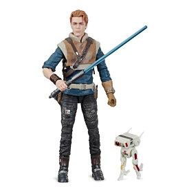 【取寄せ】 ディズニー Disney US公式商品 ザ・ブラックシリーズ ハズブロ カルケスティス スターウォーズ ジェダイ フィギュア 置物 人形 アクションフィギュア 模型 おもちゃ Hasbro ブラックシリーズ [並行輸入品] Cal Kestis Action Figure Star Wars Jedi: Fallen Or