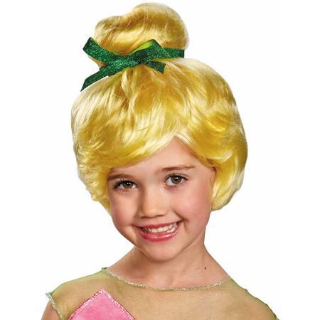 【あす楽】ディズニー Disney ティンカーベル フェアリー 妖精 ウィッグ かつら コスチューム 衣装 コスプレ 仮装 なりきり 女の子 子供 ガールズ [並行輸入品] Tinker Bell Child Wig Girls グッズ ストア プレゼント ギフト クリスマス 誕生日