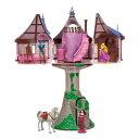 【取寄せ】 ディズニー Disney US公式商品 塔の上 ラプンツェル プリンセス おもちゃ 人形 塔 タワー フィギュア セッ…