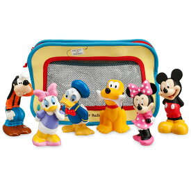 【あす楽】 ディズニー Disney US公式商品 ミッキーマウス ミッキー お風呂 おもちゃ 玩具 トイ ベビー 赤ちゃん 幼児 女の子 男の子 [並行輸入品] Mickey Mouse and Friends Bath Toys for Baby グッズ ストア プレゼント ギフト クリスマス 誕生日 人気