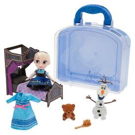 【取寄せ】 ディズニー Disney US公式商品 アナと雪の女王 アナ雪 アナ エルサ プリンセス アニメーターズコレクション おもちゃ 玩具 トイ アニメーターズ コレクション セット ミニ 人形 ドール フィギュア [並行輸入品] Animators' Collection Elsa Mini Do