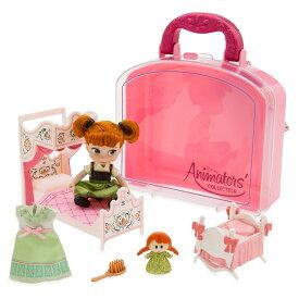 【取寄せ】 ディズニー Disney US公式商品 アナと雪の女王 アナ雪 アナ プリンセス アニメーターズコレクション おもちゃ 玩具 トイ アニメーターズ コレクション セット ミニ 人形 ドール フィギュア [並行輸入品] Animators' Collection Anna Mini Doll Play