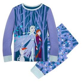 【あす楽】 ディズニー Disney US公式商品 アナ雪2 アナと雪の女王 アナ雪 2 プリンセス パジャマ 寝巻き 部屋着 服 女の子用 子供用 女の子 ガールズ 子供 [並行輸入品] Frozen PJ PALS for Girls グッズ ストア プレゼント ギフト クリスマス 誕生日 人気
