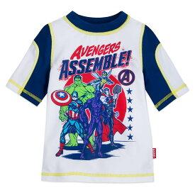 【あす楽】 ディズニー Disney US公式商品 アベンジャーズ Avengers マーベル 水着 ラッシュガード シャツ 服 男の子用 子供 男の子 ボーイズ [並行輸入品] Rash Guard for Boys グッズ ストア プレゼント ギフト クリスマス 誕生日 人気