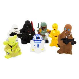 【あす楽】 ディズニー Disney US公式商品 スターウォーズ おもちゃ 玩具 トイ ビニールの人形 フィギュア スクイーズトイ セット [並行輸入品] Star Wars Squeeze Toy Set グッズ ストア プレゼント ギフト クリスマス 誕生日 人気