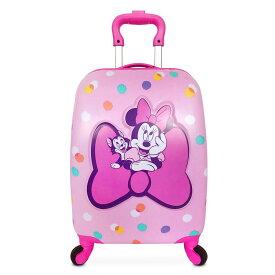 【1-2日以内に発送】 ディズニー Disney US公式商品 ミニーマウス ミニー キャリーバッグ 鞄 カバン スーツケース 旅行 バッグ 40cm ラゲージ キャリーケース ころころ かばん [並行輸入品] Minnie Mouse Rolling Luggage ? 16'' グッズ ストア プレゼント ギフト クリ