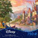【取寄せ】 ディズニー Disney US公式商品 美女と野獣 ベル プリンセス トーマスキンケード 野獣 パズル おもちゃ ゲ…