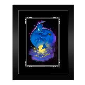 【取寄せ】 ディズニー Disney US公式商品 アラジン ジャスミン プリンセス 絵 アート デラックスプリント 絵画 プリント インテリア フレーム付き 額付き [並行輸入品] Aladdin ''Your Wish is My Command'' Framed Deluxe Print by Noah グッズ ストア プレゼント ギ