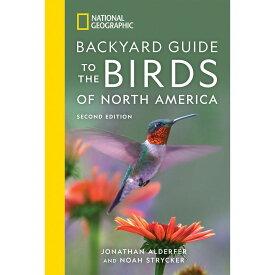 【取寄せ】 ディズニー Disney US公式商品 ナショナルジオグラフィック 本 洋書 英語 [並行輸入品] National Geographic Backyard Guide to the Birds of North America Book, Second Edition グッズ ストア プレゼント ギフト クリスマス 誕生日 人気