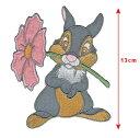 【1-2日以内に発送】ディズニー Disney バンビ Bambi アイロンで取り付けるアップリケ ワッペン 布 クラフト 手芸 針…
