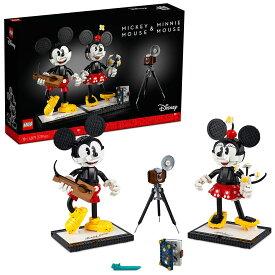 【取寄せ】 ディズニー Disney US公式商品 ミッキーマウス ミッキー ミニーマウス ミニー レゴブロック LEGO レゴ おもちゃ セット [並行輸入品] Mickey Mouse & Minnie Buildable Characters 43179 Building Set グッズ ストア プレゼント ギフト クリスマス 誕生日 人気