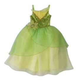 【取寄せ】 ディズニー Disney US公式商品 プリンセスと魔法のキス ティアナ プリンセス コスチューム 衣装 ドレス 服 コスプレ ハロウィン ハロウィーン 子供 キッズ 女の子 男の子 [並行輸入品] Tiana Costume for Kids ? The Princess and the Frog グッズ ストア プレゼ