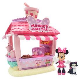 【取寄せ】 ディズニー Disney US公式商品 ミニーマウス ミニー おもちゃ 玩具 トイ セット [並行輸入品] Minnie Mouse Smoothie Shop Play Set グッズ ストア プレゼント ギフト クリスマス 誕生日 人気