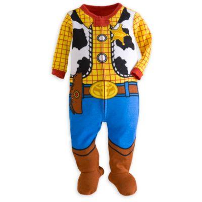 【1-2日以内に発送】ディズニー Disney US公式商品 トイストーリー ウッディ コスチューム パジャマ ロンパース 服 赤ちゃん ベビー 幼児用 男の子 女の子 [並行輸入品] Woody Stretchie for Baby - Toy Story