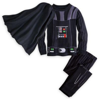 【1-2日以内に発送】ディズニー Disney US公式商品 ダースベイダー スターウォーズ ダースベーダー パジャマ 寝巻き 部屋着 コスチューム コスプレ ハロウィーン ハロウィン 衣装 服 男の子 ボーイズ 子供用 [並行輸入品] Darth Vader Deluxe PJ PALS for Boys