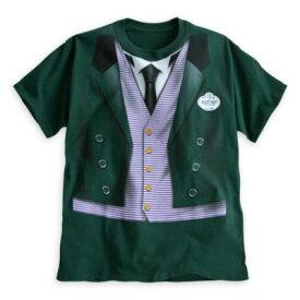 【あす楽】ディズニー Disney US公式商品 ホーンテッドマンション Tシャツ 洋服 トップス コスチューム 衣装 ドレス コスプレ ハロウィン ハロウィーン メンズ 大人 男性用 [並行輸入品] The Haunted Mansion Host Costum【02P18Jun16】