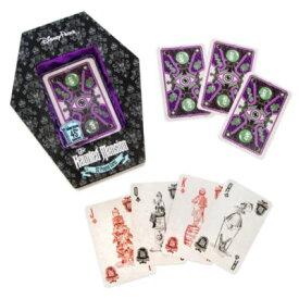 【あす楽】ディズニー Disney US公式商品 ホーンテッドマンション トランプ カード ゲーム コレクション おもちゃ カードセット 手紙 [並行輸入品] The Haunted Mansion Playing Card Set