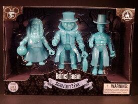 【あす楽】ディズニー Disney US公式商品 ホーンテッドマンション ヒッチハイキングゴースト ヒッチハイク フィギュア 置物 人形 [並行輸入品] Hitchhiking Ghosts Action Figure Set - The Haunted Mansion