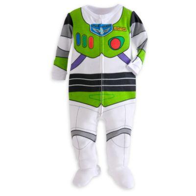 【1-2日以内に発送】USディズニー公式商品(Disney) バス バズライトイヤー トイストーリー コスチューム パジャマ カバーオール ロンパース ベビー 赤ちゃん 幼児 [並行輸入品] Buzz Lightyear Stretchie for Baby - Toy Story ディズニース【02P18Jun16】