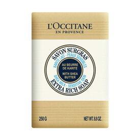 【母の日】ロクシタン シアソープ ミルク(新パッケージ) 250g 【L'OCCITANE】【W_256】