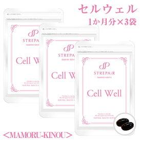 酵素を超えたスーパー酵素!Cell Well セル ウェル-MAMORU-KINOU-(60粒×3袋)酵素 エンザミン 内臓機能 免疫 腸内環境 ナノ型乳酸菌 美容 健康 サプリ HSP