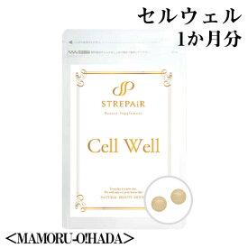 HSP補充!Cell Well セル ウェル<MAMORU-O!HADA>(60粒)/ HSP補充!まずはお試し1袋からスタート。美容 健康 サプリ HSP アスパラガス 湯治 コエンザイム 大豆
