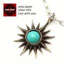 AMP JAPAN アンプジャパン サニーターコイズネックレス 16ac-120 / AMPJAPAN アンプ ジャパン シルバー シルバーアクセサリー シルバー925 アクセ アクセサリー ネックレ