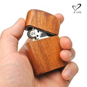 【 ジッポケース 木製ケース】 LIFE ライフ ウッドオイルライター / ライター ジッポ ウッド 木製 木 おしゃれ 刻印 名入れ 名前 ハンドメイド オーダーメイド 日本製 ブランド メンズ 男性
