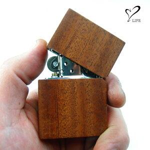 【今なら無料永久保障付き】 LIFE ライフ ウッドオイルライター / ライター ウッド 木製 木 おしゃれ 刻印 名入れ 名前 ハンドメイド オーダーメイド 日本製 ブランド メンズ 男性