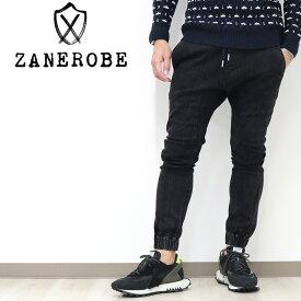 ZANEROBE ゼインローブ チノジョガーパンツ zr705jp-sta ブラック / メンズ 29インチ〜38インチ 9分丈 裾ぴったり スリム ゼンローブ ジョガー 新作 2020年