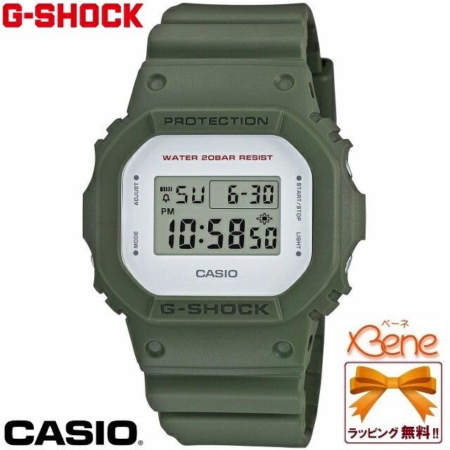 【正規品・送料無料!】CASIO/カシオ G-SHOCK/ジーショック ORIGIN オリジン スクエア Military Color Series ミリタリーカラーシリーズ カーキ/灰緑 DW-5600M-3JF