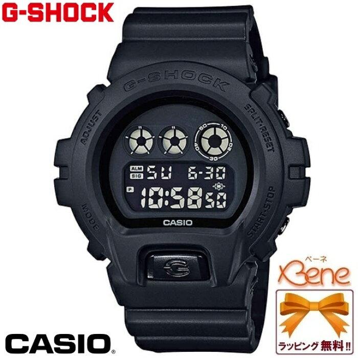 《再入荷!》【正規品・送料無料!】CASIO/カシオ G-SHOCK/ジーショック BASIC BLACK Series/ベーシックブラックシリーズメンズクウォーツ マットブラック DW-6900BB-1JF