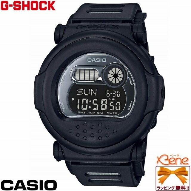 [正規品/送料無料!]CASIO/カシオ G-SHOCK/ジーショック Classic Basic Black Series [Aboslute Toughnenss] ジェイソンフェイスデジタル 20気圧防水 メンズクオーツ ストップウォッチ タイマー オールブラック G-001BB-1JF