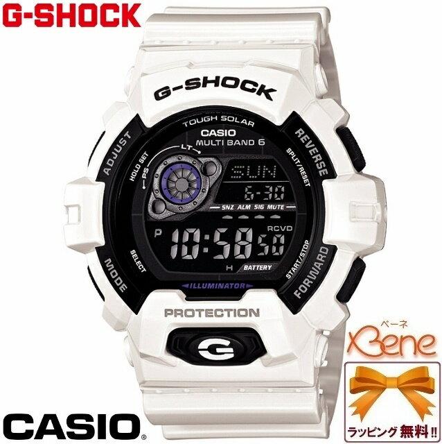 【正規品・送料無料!】CASIO/カシオ G-SHOCK/ジーショック マルチバンド6 タフソーラー電波 ホワイト/白 GW-8900A-7JF
