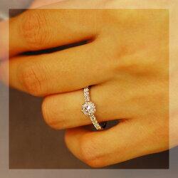 【誕生祭】「インシスト」5mmローズカットダイヤモンドリング【送料無料】【smtb-m】