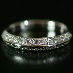 全品ポイント10倍 シャープな立体感が魅力!ローズカットダイヤモンドリング 誕生石 4月
