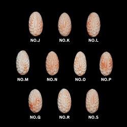 【送料無料】雫に映ったダリアの深海珊瑚リング対応金種K18イエローゴールド、K18ピンクゴールド、K18シャンパンゴールド※ホワイトゴールドではお作りできません。