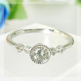 グレード・ダイヤモンド&ローズカットダイヤリング送料無料 CP5
