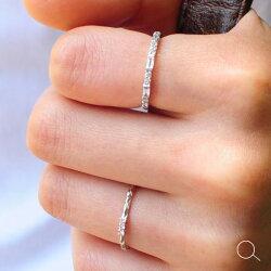 StackingRingアーガイル産ピンクダイヤモンド