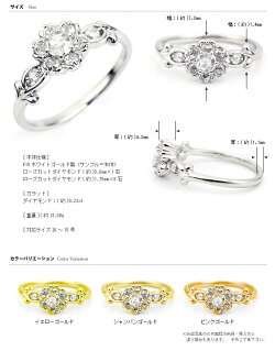 【送料無料】「ブルボンクィーン」ローズカットダイヤモンドリング【smtb-m】