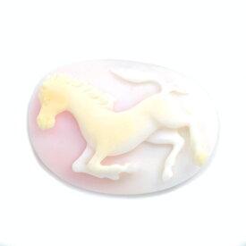 ☆カメオ コンクシェル 「cavallo cameo」1個限定製品オーダー可能※こちらのルースを使用してのオーダー・セミオーダー・カスタマイズもお受けできます。送料無料