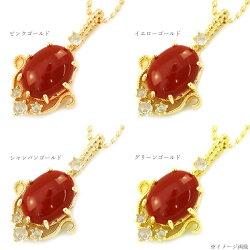 血赤珊瑚×ローズカットダイヤペンダントトップ「スペッキオ」送料無料新作